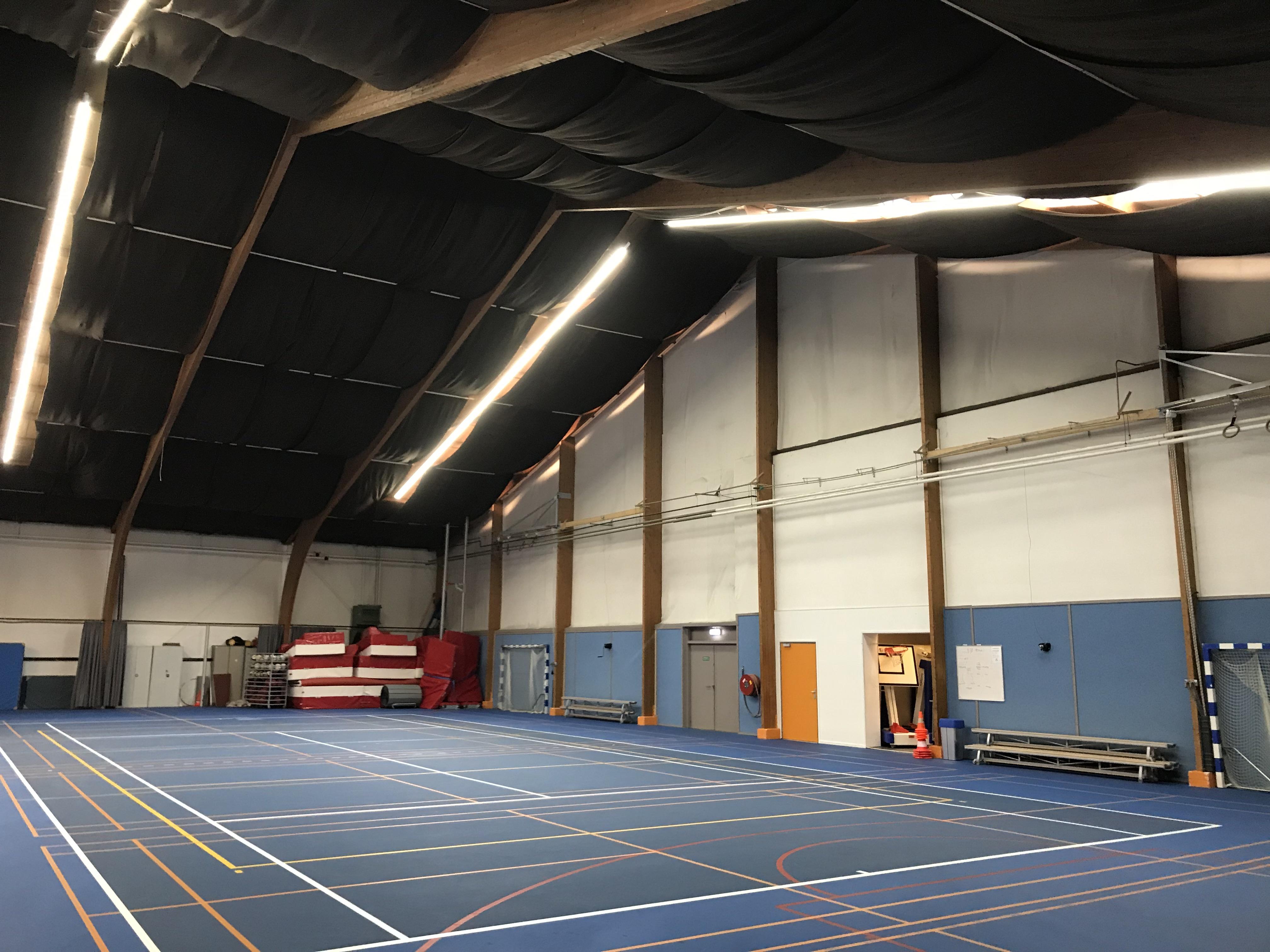 Verlichting voor sportvelden