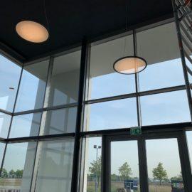 Referentie Led verlichting nieuw kantoor Aan de Stegge Roosendaal